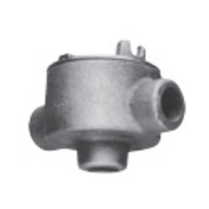 Cooper Crouse-Hinds GUAD26 Condulet Conduit Outlet Box with Cover