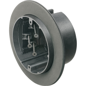 "Arlington F426F Round Vapor Box For Fixtures, Diameter: 6.25"", Mounts to Stud"