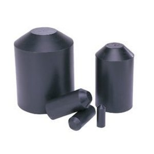 "Ideal 46-383 Heat Shrinkable End Caps, Thermo-Shrink, Medium Wall, 3.35"" Length,"