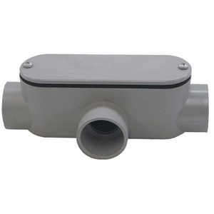 "Multiple 250T 2-1/2"" T PVC Conduit Fitting"