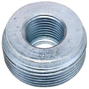 "Appleton RB150-75A Reducing Bushing, Threaded, 1-1/2 x 3/4"", Aluminum"
