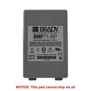 Brady M71-BATT BMP71 Battery Pack