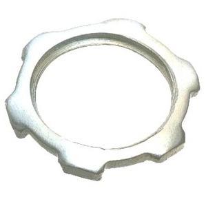 "Appleton BL150A Locknut, Type: Tiger Grip, Size: 1-1/2"", Material: Aluminum"