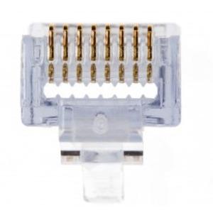 Platinum Tools 100003C Modular Plug, EZ-RJ45 Cat 5/5e, 24AWG
