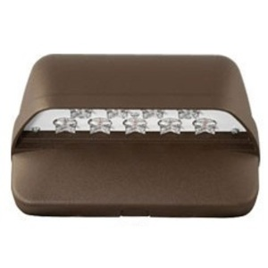 Hubbell-Outdoor Lighting LNC-9LU-5K-3-1 LED Laredo Cut-Off Wallpack, (9) 20.6 Watt LEDs, 120-277V