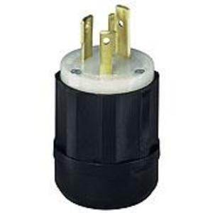 Leviton 2621 Locking Plug, 30A, 250V, L6-30P, 2P3W