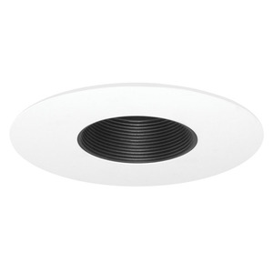 Juno Lighting 454-BWH 6IN LV TRIM BAFFLE MR16