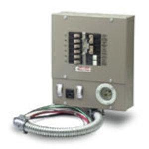 Eaton CH6EGEN2060SUR Emergency Generator Panel, 20A, 5,000W, 6 Circuit, NEMA 1