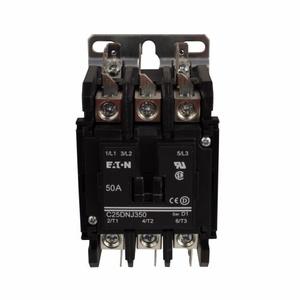 Eaton C25DNJ250A Contactor, Definite Purpose, 2P, 50A, 110 -120VAC Coil, 600VAC