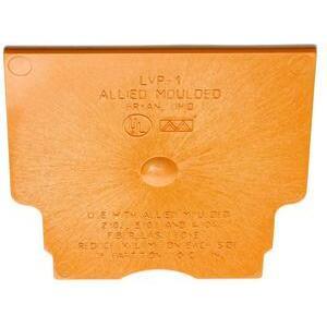 Allied Moulded LVP-1 Partition, Low Voltage, Orange, Non-Metallic
