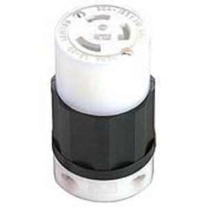 Leviton 2613 Locking Connector, 30A, 125V, 2P3W