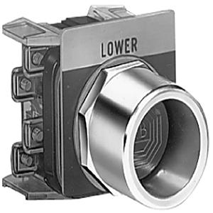 """Allen-Bradley 800T-N143 Push Button, 1/2"""" Guard, for Non-Illuminated, Flush"""