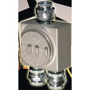 "Appleton GRUSE50 Conduit Outlet Box, Type GRUSE, (3) 1/2"" Hubs, Malleable"