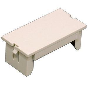 Wiremold CM2-BL 2A Blank Module, CM  Series, Non-Metallic, Ivory