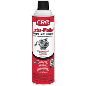 CRC 05018 An aggressive cleaner specifically for energized electrical equipment. Non-flammable formula dissolves grease, oil, dirt, & wax without having to remove parts.