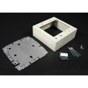 Wiremold G2048-2 Stl Swt & Recpt Box 2g 2000 Gray