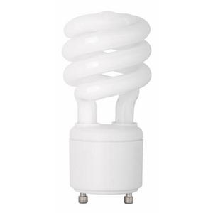TCP 33113SPY Compact Fluorescent Lamp, 13W, GU24 Twist Lock, Yellow Bug Lamp