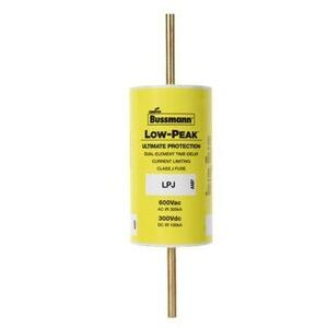 Eaton/Bussmann Series LPJ-200SP Fuse, 200 Amp, Class J, Dual-Element, Time-Delay, 600V, LOW-PEAK