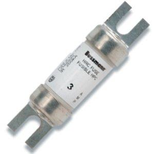 Eaton/Bussmann Series 10CIF21 10 Amp HRCI Industrial Ceramic Body Fuses, 600Vac/250Vdc