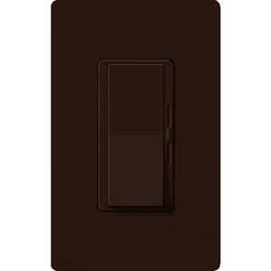 Lutron AYCL-153P-BR Dimmer, Ariadni, CFL/LED/Incandescent/Halogen, 150W, Brown