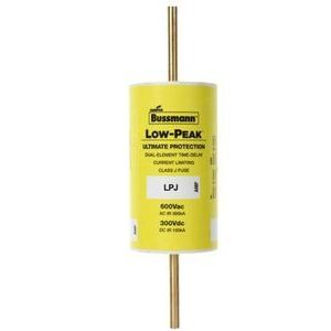 Eaton/Bussmann Series LPJ-100SP Fuse, 100 Amp, Class J, Dual-Element, Time-Delay, 600V, LOW-PEAK