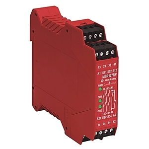 Allen-Bradley 440R-N23132 Relay, Single Function, Safety, 24V AC/DC, MSR127RTP