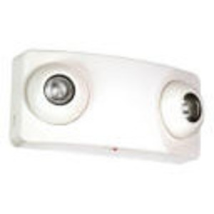 Lightalarms LCA-2MRS Emergency Light, Halogen, 2-Head, 5W, 6V, White