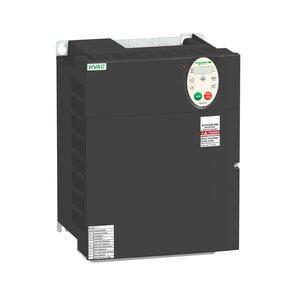 Square D ATV212HD15N4 AC Drive, Altivar, 30.5A, 20 HP, IP20, Size 4A, 380-480VAC, 15kW