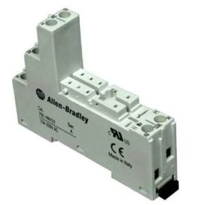 Allen-Bradley 700-HN123 Socket, 8-Pin, Miniature, Coil and Contact Separation, for 700-HP