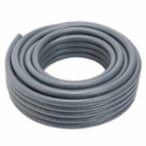 "Carlon 15009-200 Liquidtight Flexible Conduit, Non-Metallic, 1-1/4"", Gray, 200' Reel"