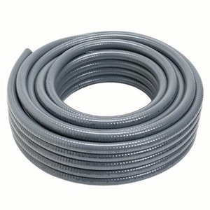 "Carlon 15008-500 Liquidtight Flexible Conduit, Non-Metallic, 1"", Gray, 500' Reel"