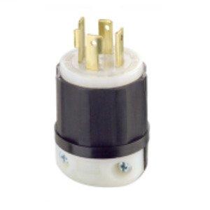 Leviton 2741 Locking Plug, 30A, 3PH 600V, 3P4W
