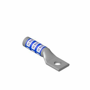 Thomas & Betts 54965BE Copper Compression Lug, 3/0 AWG, 1-Hole Stud, Long Barrel, Orange