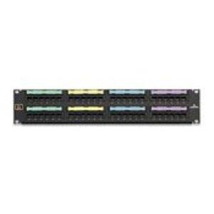 Leviton 49012-J48 Ppanel Vg 48-port 8p2c