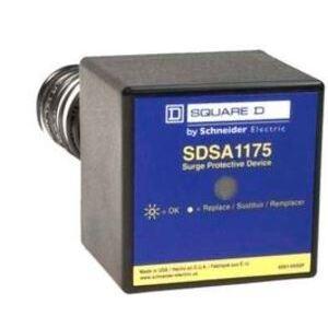 Square D SDSA1175 Surge Arrestor, 120/240VAC, 1PH, MOV, Thermoplastic
