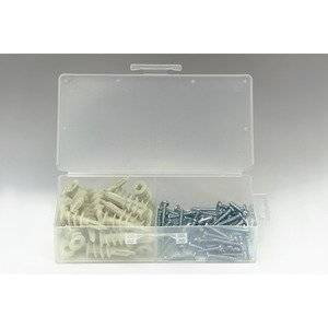 Bizline R8ZSK Zip-It Anchor Kit, Metal,  # 8 x 1""