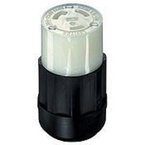 Leviton C2623 Locking Connector, 30A, 250V, L6-30R, 2P3W