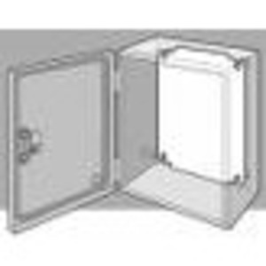"Hoffman LP3530 Panel For Enclosure, Inline Series, 13.04"" x 11.07"", Steel"