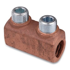 Thomas & Betts 32505 Wire Connector, Two-Way, Copper