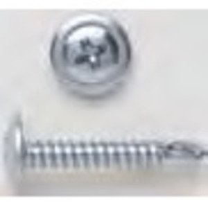 Bizline R812WT5 Self-Drill Screw, Wafer Head, Phillips, 8 x 1/2""