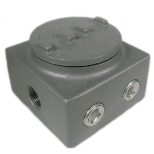 Appleton GRSS75 Conduit Outlet Box, Type GRSS, Explosionproof, Dust-Ignitionproof