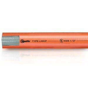 """Electri-Flex 87402 Liquidtight Flexible Conduit, Non-Metallic, 1-1/4"""", Orange, 100' Coil"""