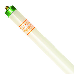 "Shat-R-Shield 43546 Fluorescent Lamp, Coated, T8, 96"", 59W, 4100K"