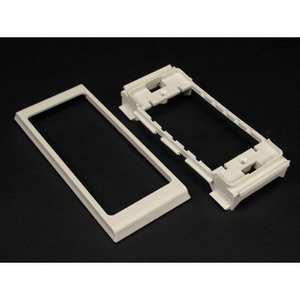 Wiremold 40N2F31WH Non-Metallic Device Bracket & Trim Ring 40N, White