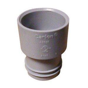 """Carlon A263E ENT to PVC Adapter, 3/4"""", Gray"""