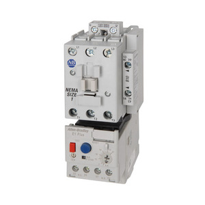 Allen-Bradley 309-AOD-EEC Starter, Size 0, 18A, 600VAC, with 1.0 - 5A, Overload Relay