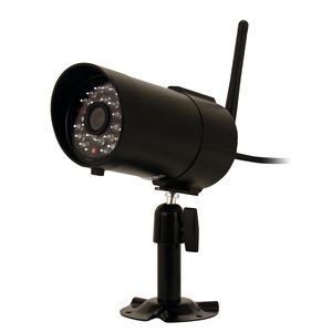 BRK-First Alert DWC-400 Camera, Bullet, Indoor/Outdoor, IR, 2.4 GHz, for DWS Series DVR