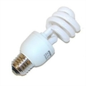 SYLVANIA CF13EL/MINI/830 Compact Fluorescent Lamp, Mini-Twister, 13W, 3000K