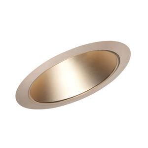 "Juno Lighting 612-WHZABZ Slope Trim, Cone, 6"", Wheat Haze Reflector/Classic Aged Bronze Trim"
