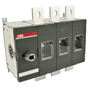 ABB OT600U03 Disconnect, Non-Fused, 600A, 3P, 600VAC, Terminal Bolt Included